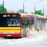 Risk of flash flood in Warsaw?