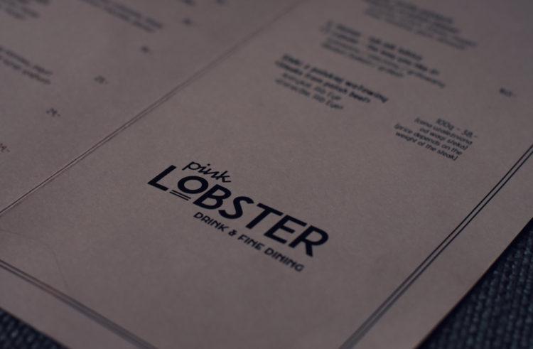 Notes: Pink Lobster