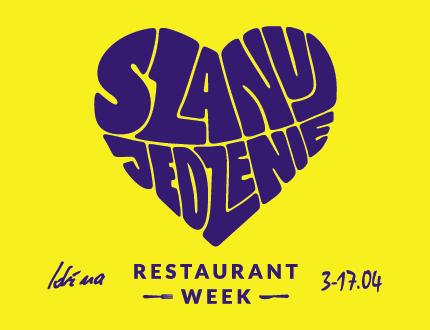 Restaurant week 3-17.04.2019