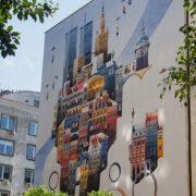 New Mural in Warsaw by Tytus Brzozowski