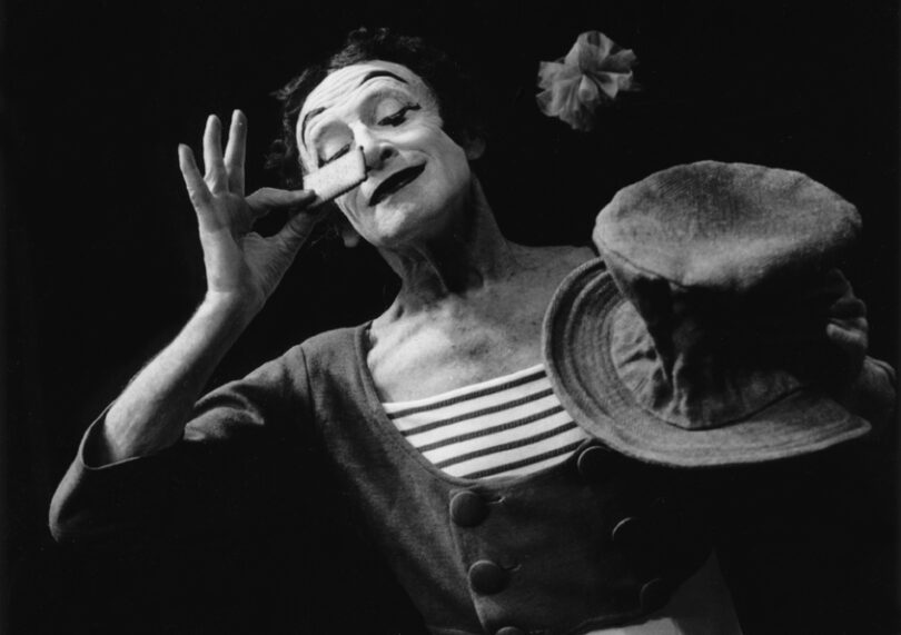 Le Mime Marceau by Marc Riboud