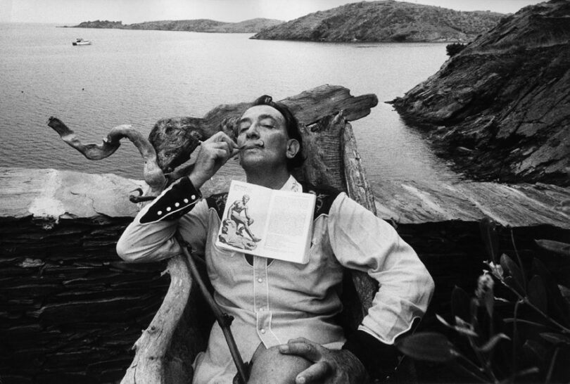 Salvador Dali by Marc Riboud