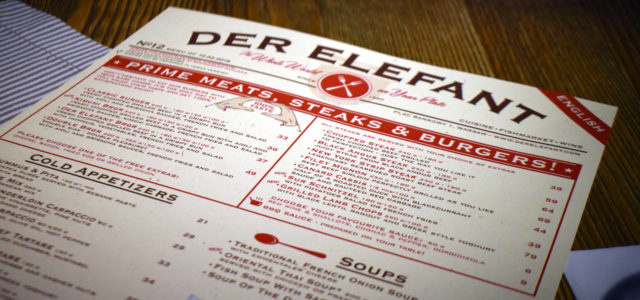 Notes: Der Elefant