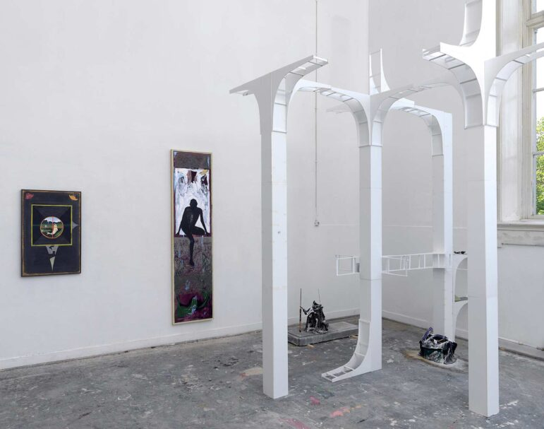 Anders Dickinson, Once a closely guarded secret, 2019, Offspring 2019 De-Ateliers, Amsterdam, exhibition-view (courtesy of the artist and Wschód gallery)